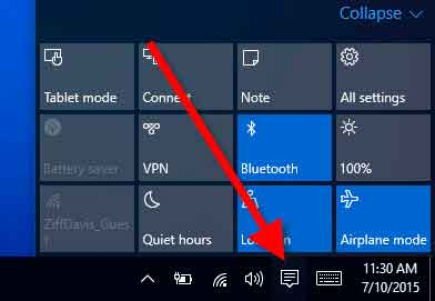 action-center-windows10