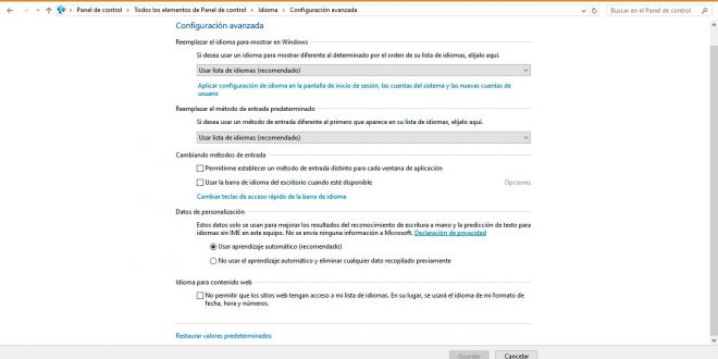 Photo of Barra de idiomas en Windows 10: Todo lo que necesitas saber