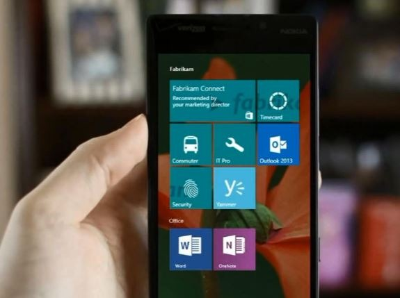 windows 10 Mobile2