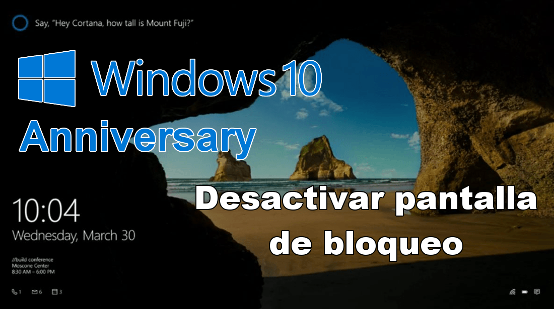 Windows 10 Aniversario 2