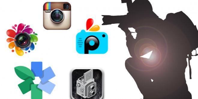 Aplicaciones de edición de fotos