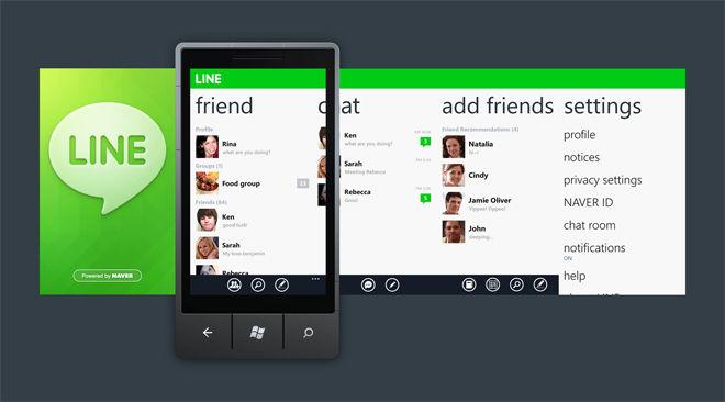 Aplicaciones de mensajería para Windows Phone